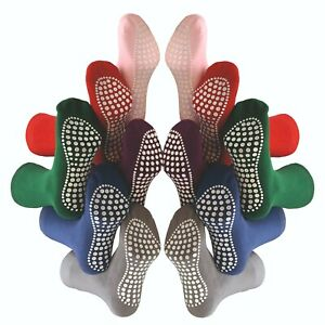 3 Paar Damen & Herren Stoppersocken | ABS Anti Rutsch Socken | Noppensocken