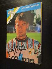56671 Weißgerber FC Carl Zeiss Jena 90er original signierte Autogrammkarte