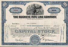 2 different. Buckeye Pipe Line Comp. stock certificate, Merrill Lynch