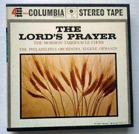 The Lords Prayer Reel to Reel Mormon Tabernacle Choir Columbia MQ 324 Christian