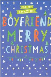 CHRISTMAS CARD FOR MY AMAZING BOYFRIEND