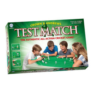 Test Match Cricket Board Game NEW