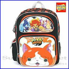"Yokai  Watch 16"" Large School Backpack Book Bag Game Level 5"
