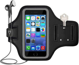 For iPhone 12 11 Pro Max XR XS 8 7 Case Sport Running Armband Gym Arm Band Pouch