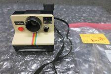 Vintage Tested Polaroid SX-70 Land Camera One Step Rainbow Stripe