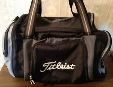 Titleist Golf Duffel Gym Bag. Black