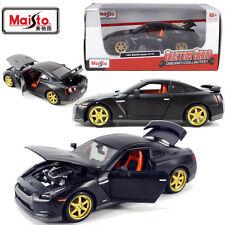 1/24 Maisto Nissan GTR Diecast Model Car Vehicle Custom Shop Collection Toy Gift