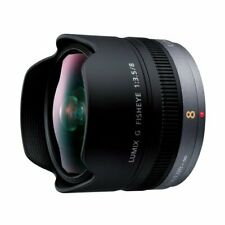 Panasonic LUMIX G FISHEYE 8mm/F3.5 Lens | H-F008 - International Version (No W..