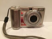 Canon PowerShot A20 2.1MP Digital Camera Silver TESTED