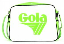 Gola Cross Body Bag Redford Patent Lime / White Black