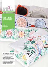 Anita Goodesign Early Bird Organizer Embroidery Machine Design CD NEW