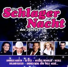 Schlagernacht des Jahres (2010, Sony) Andrea Berg, Bernhard Brink, G.G... [2 CD]