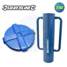Silverline acciaio Recinzione Post Driver rammer THUMPER Martello BANGER 15KG 749248