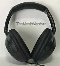 Studio Monitor DJ Home Stereo Digital Audio Headphones Sealed Full-Size Over Ear