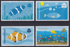 2016 Positively Postal unmounted mint arti stamps x 4 Fish