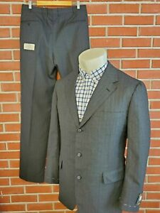 Brooks Brothers Vintage Own Make English 2-Piece Suit Mens 42ML 36W New w/ Tags