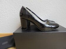 Hugo Boss charol óptica pumps NP: 380 € top zapatos de tacón alto talla 37 37,5 38