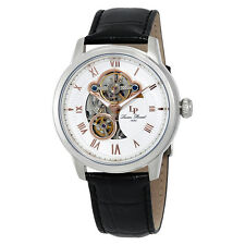 Lucien Piccard Optima Automatic Mens Open Heart Watch LP-12524-02-RA