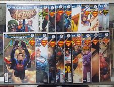 Superman in Action Comics REBIRTH - Run of 18 - #957 thru 974 - VF+ 2016-2017 @