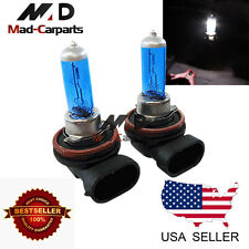 H9 100w Halogen Xenon Headlight Replacement 2x Light Bulb Lamp 6000K White