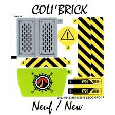 Lego 60122 - 1x Autocollant / Sticker - Chantier - NEUF