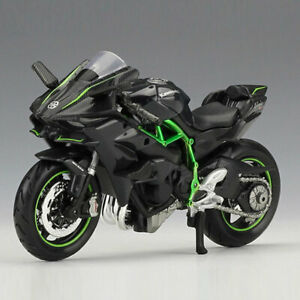 1:18 Kawasaki Ninja H2 R Motorcycle Model Diecast Motorbike Model Toy Kids Gift