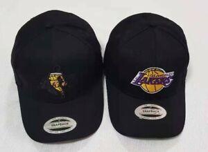 New NBA Basketball LA Lakers Golf Mens Womens Unisex Adjustable Cotton Hats Caps