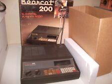 Vintage Bearcat 200 16 Channel Scanning Radio Lot # Md.