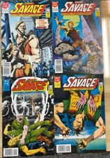 DOC SAVAGE mini-series set (4) #1-2-3-4 (1987) Spanish color comic books FINE-