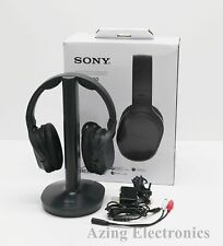Sony WH-RF400 Wireless Home Theater Headphones - Black