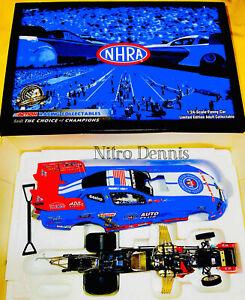 NHRA JOHN FORCE Racing 1:24 Diecast NITRO Funny Car ROBERT HIGHT 2008 TOP FUEL
