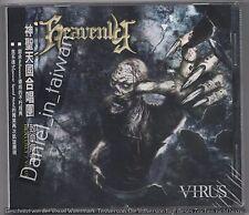 Heavenly: Virus (2006) CD OBI TAIWAN + 2 JAPAN BONUS TRACKS