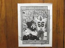 1983 Southern Colorado Football Program (10 Signed/MIKE  FRIEDMAN/JOHN  WRISTEN)