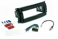 Single Din Dash Kit for Radio Stereo Install Wire Harness Antenna Adapter