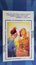 WW2 Bamforth Comic Postcard 1940s Scottish Highlander Soldier WALLET Theme