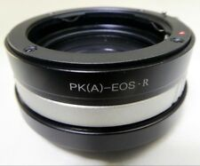 Pentax K PK A FA Lens mount adapter to Canon EOS R Full frame Mirrorless Camera