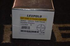 Leupold VX-5HD 3-15x44mm CDS-ZL2 Matte 30mm Tube SF FireDot Duplex NIB 172368