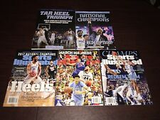 TAR HEEL TRIUMPH Special Commemorative Book 2017 NCAA National Champions+4 other