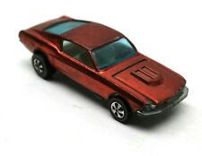1967 Hot Wheels Redline Custom Mustang Ford Lincoln Diecast Mattel Made USA