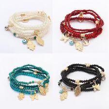 Armband Modeschmuck Perlen Mix Anker Hand Der Fatima Damen Vintage Mode