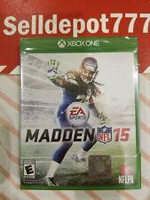 Madden NFL 15 (Microsoft Xbox One, 2014) Brand New
