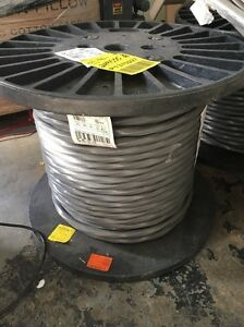 Southwire 500 ft. 1-1-1-3 3E Gray Stranded Aluminum SER Cable