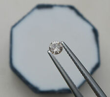 3.5mm Champagne Diamond Loose Faceted Natural Round 0.21 carats