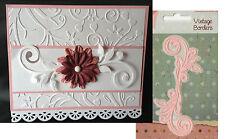 VINTAGE SWIRL metal die Joy Crafts cutting dies 6002/0163 Scroll Flourish swirls