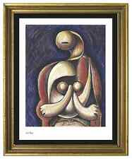 "Pablo Picasso Signed/Hand-Numbered Ltd Ed ""Woman Red Armchair "" Litho (unframed)"