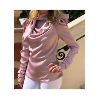 Puff Sleeved Pink Top