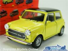 AUSTIN MORRIS MINI COOPER MODEL CAR YELLOW 1:36-1:38 SIZE WELLY NEX BLACK ROOF K