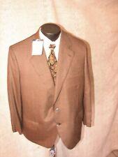 $4999 BRIONI for Rubensteins in New Orleans  Men 2 Butt  Brown Blazer  42 S NWT