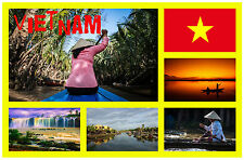 VIETNAM - SOUVENIR NOVELTY FRIDGE MAGNET - BRAND NEW - GIFT / XMAS