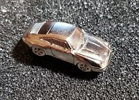 PORSCHE PIN 911 - 1993 modello 3D ARGENTO BRILLANTE 27x11mm